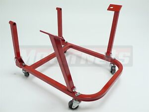 Heavy Duty Small Big Block Chevy Engine Cradle Storage Stand Wheels Sbc Bbc