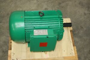 New 10 Hp Power Tech Single Phase Electric Motor 230 460 V 1725 Rpm 215t Frame
