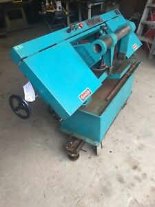 Ramco Ramsaw1 Horizontal Band Saw With Front Petal