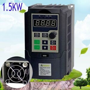 1 5kw 3hp 7a 220vac Single Phase Variable Frequency Drive Inverter Vsd Vfd oy
