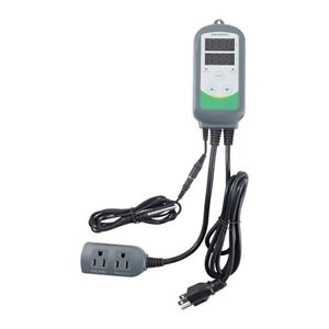 Inkbird Pre wired Digital Temperature Controller Thermostat 110v 2 Stage