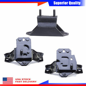 Anchor New 3pcs Engine Motor Trans Mount Set For Ford Mustang Gt Svt Cobra