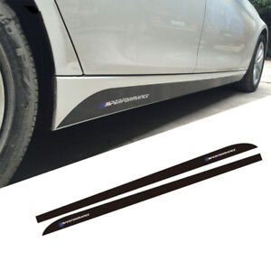 Skirt Sill Decal Side Stripes New M Performance Sticker For Bmw F30 E90 F10 G30