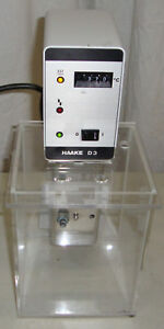 Thermo Haake D3 Circulating Immersion Heater Controller 000 5728 Good Clean