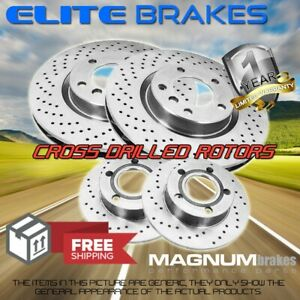 F R Drill Rotors For 94 04 Ford Mustang Non Svt Cobra