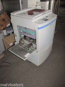 Riso Risograph Rp3700 Rp 3700 Digital Duplicator 11x17 Drum For Parts repair