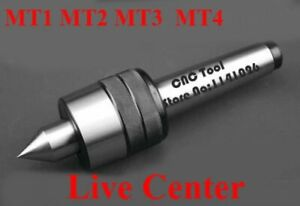 Free Shipping For Precision Rotary Live Center Mt1 Mt2 Mt3 Mt4 Center For Lathe