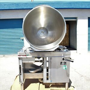 Market Forge 40 Gallon Tilt Kettle Mt40 Direct Steam