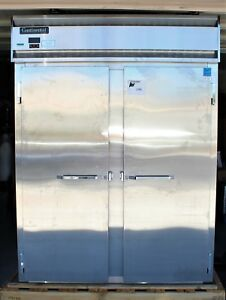 Continental Dl2fe ss 57 Extra wide Solid 2 Door Reach in Freezer 52 Cu Ft