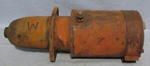 Farmall International m Tractor Starter Used