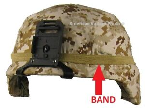 Helmet Band Coyote f Military USMC Army M1Helmet PASGT MICH Airsoft Camo P38 $8.90