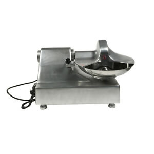 New Commercial 110v Chopper Food Processor Cutter 15 Bowl