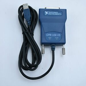 Used National Instrumens Ni Gpib usb hs Interface Adapter Controller Ieee 488