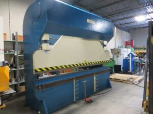 Diacro Hydra mechanical Press Brake W Automec Cnc Back Gauge