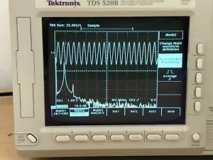 Tektronix Tds520b Oscilloscope 500mhz 1gs s In Perfect Working Condition