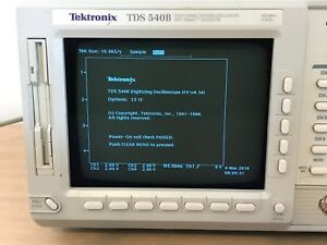 Tektronix Oscilloscope Tds540b 500mhz 2gs s In Perfect Working Condition