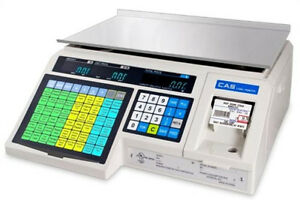 Cas Lp1000n Label Printing Scale 30x0 01 Lb ntep legal For Trade free Case Label