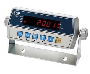 Cas Ci 2001a Digital Indicator Replacing Floor Scale Readout rs232 ntep New