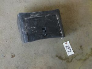 John Deere 110 Tractor Backhoe Access Panel Tag 2873