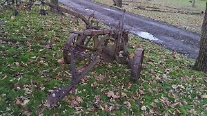 Two Bottom Case Plow Tractor Implement Moldboard Pull Type