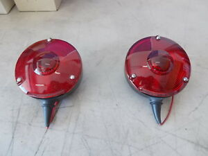 Signal Stat Vintage Turn Brake Tail Light Lite 26 Series 2609 4 Inch 4 Pair Nos