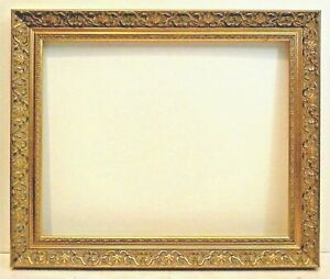 16 X 20 Standard Picture Frame 2 3 8 Wide Scoop Gold Ornate Carved Canvas Allow