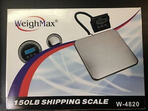 Weighmax W 4820 Industrial Postal Scale 150lb Used But Working Lbs kg