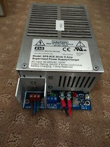 Esd Supervised Power Supply 24 Vdc 4 Amp Rms Used Guaranteed Free Shipping