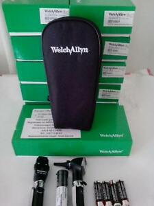 Welch Allyn Otoscope opthalomscope Diagnostic Set New Item 95001