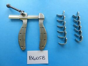 Genzyme Surgical Cardiovascular Vascular Retractor W 2 Sets Of Blades