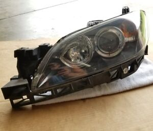 2004 2009 Mazda 3 Sedan Oem Driver Lh Xenon Hid Head Light Lamp