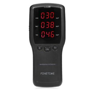 Finetime Air Quality Detector Formaldehyde hcho Monitor With Pm2 5 pm10