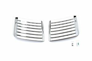 Putco 403523 Chrome Trim Air Dam Covers Fits 11 14 Chevrolet Silverado