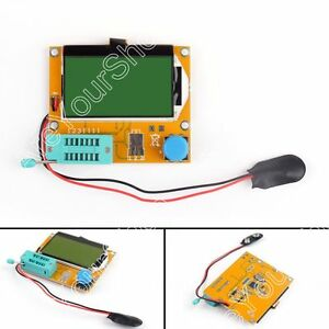 Lcr t4 Transistor Tester Diode Triode Capacitance Esr Meter Mos Pnp Npn Lcr Lcd