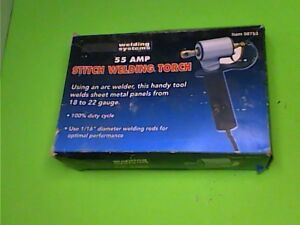 Chicago Electric 55amp Stitch Welding Torch 98753