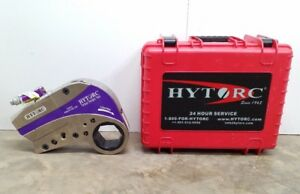 New Hytorc Stealth 22 Power Drive Hydraulic Torque Wrench W Cassette Link 3