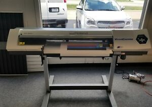Roland Sp 300i Versacamm Printer Cutter Mutoh Mimaki Sp300i 300v Low Hours