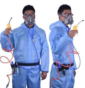 3 In 1 Function Supplied Air Fed Respirator System 3m6200 Half Face Gas Mask
