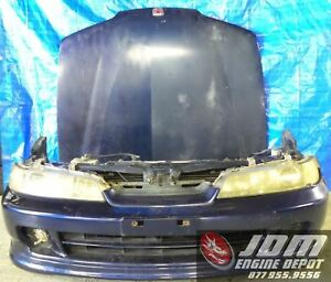 94 01 Honda Acura Integra Dc1 Type ti Blue Front End Nose Cut Conversion Jdm Dc2