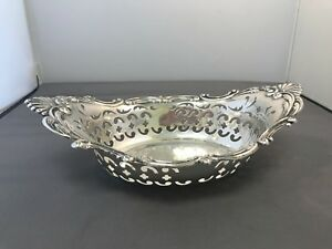 Candy Nut Dish 8 Wide By Gorham Sterling Silver A1998