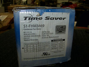 Source 1 Time Saver Condenser Fan Motor 1 3 1 6hp