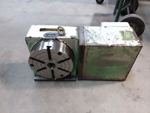 Yuasa 4th Axis 8 1 2 Rotary Table Spdx b81 1994 Model