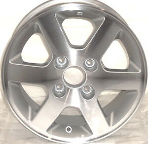 1998 2002 Honda Accord 15 Wheel Factory Oem Aluminum Alloy Silver Rim 63819