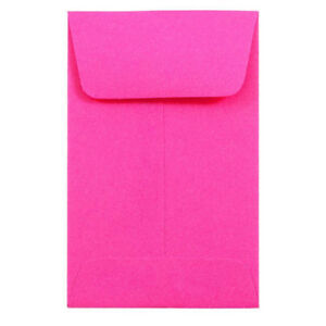 Envelope 2 1 4 X 3 1 2 Ultra Fuchsia 500 Pack 1coin 60 Stock
