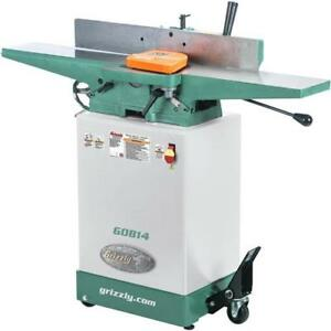G0814 6 Jointer With Cabinet Stand