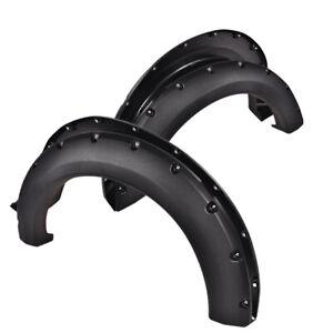 For Ford F150 04 08 07 Set Bolt On Textured Fender Flares Pocket River Bolt