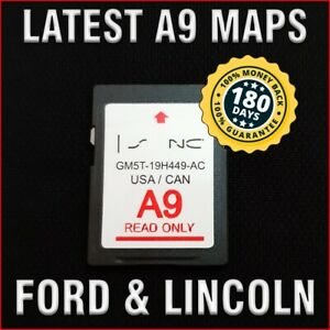 Latest 2013 2016 Ford Edge Escape Focus Fusion F150 Fiesta A9 Navigation Sd Card