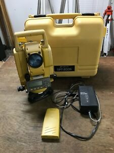 Topcon Gpt 2005 With Power Supply And Extra Battery