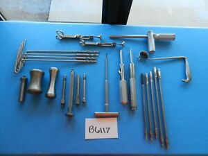 Zimmer V Mueller Surgical Orthopedic Instruments Lot Of 23