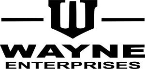 Batman Wayne Enterprises Vinyl Car Window Laptop Decal Sticker